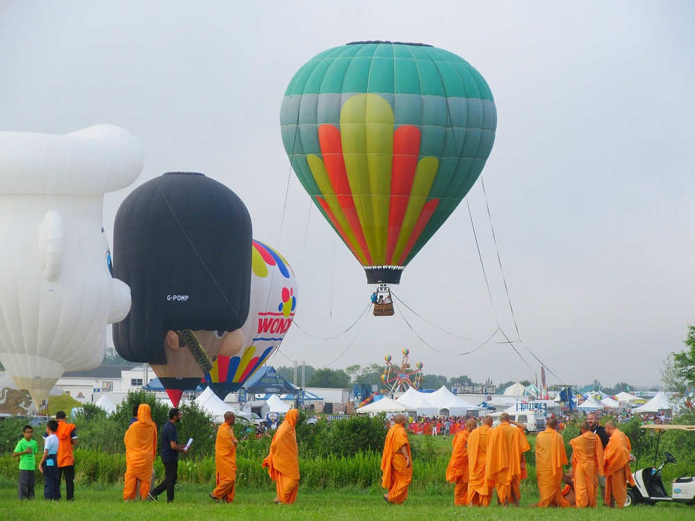 Traveleidoscope:  2018 QuickCheck Festival of Ballooning
