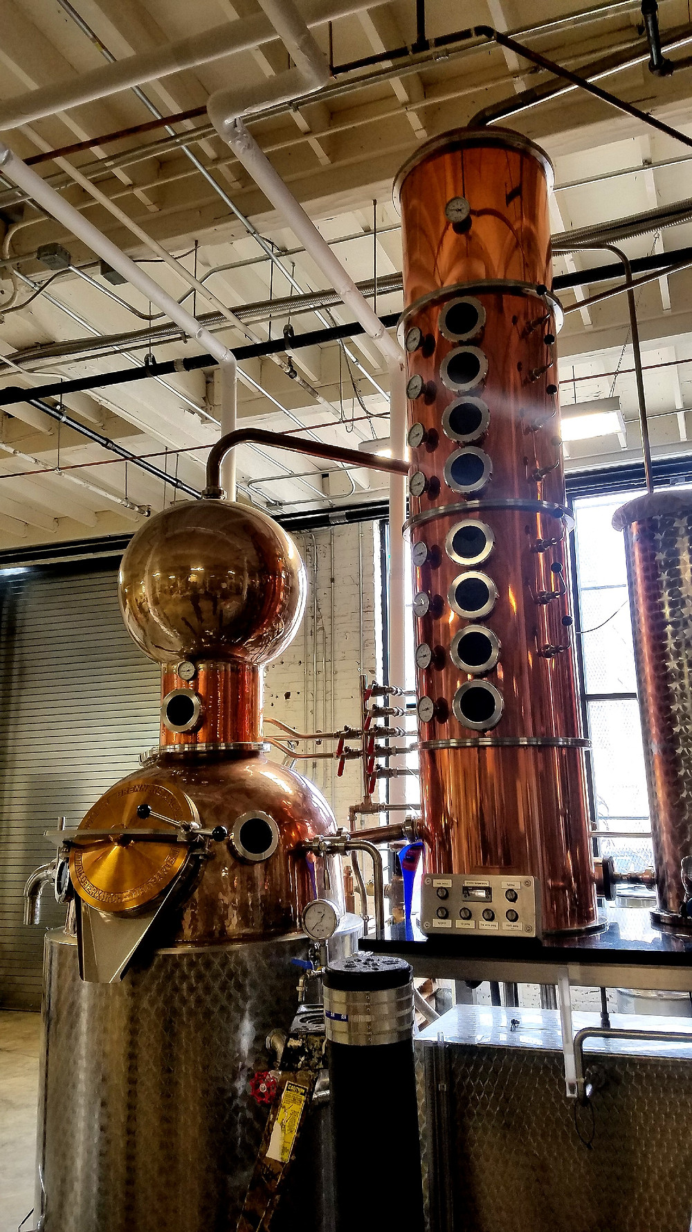Traveleidoscope:  Federal Distilling Room, Philadelphia