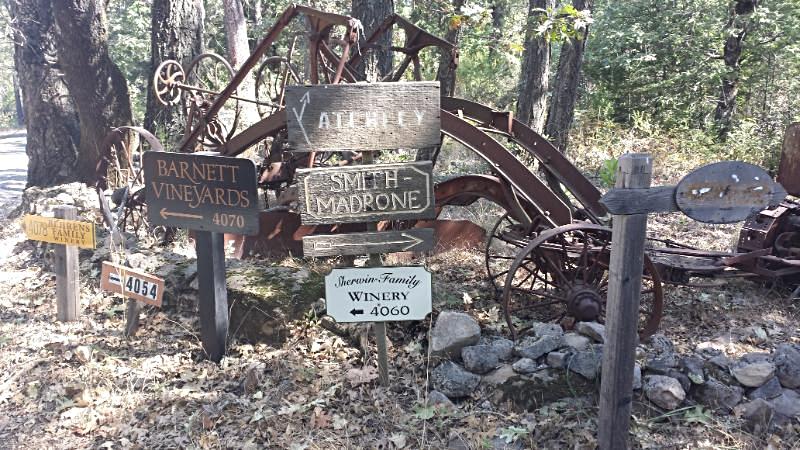 Winery Signs, Napa