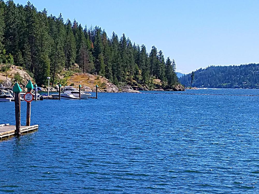 Traveleidoscope:  Lake Coeur d'Alene, Idaho
