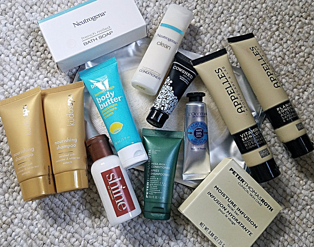 Traveleidoscope:  Hotel sample amenities