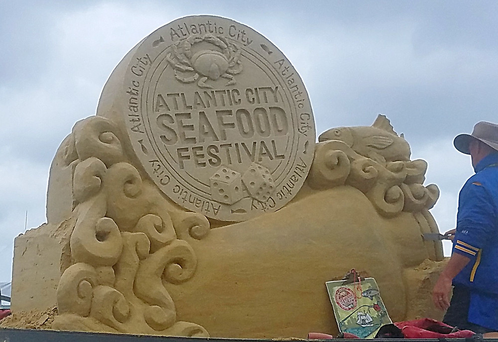 Traveleidoscope:  Atlantic City Seafood Festival