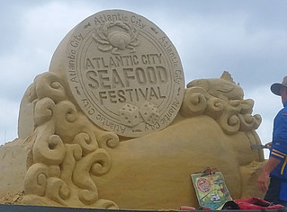 A (Soggy) Visit to the Atlantic City Seafood Festival