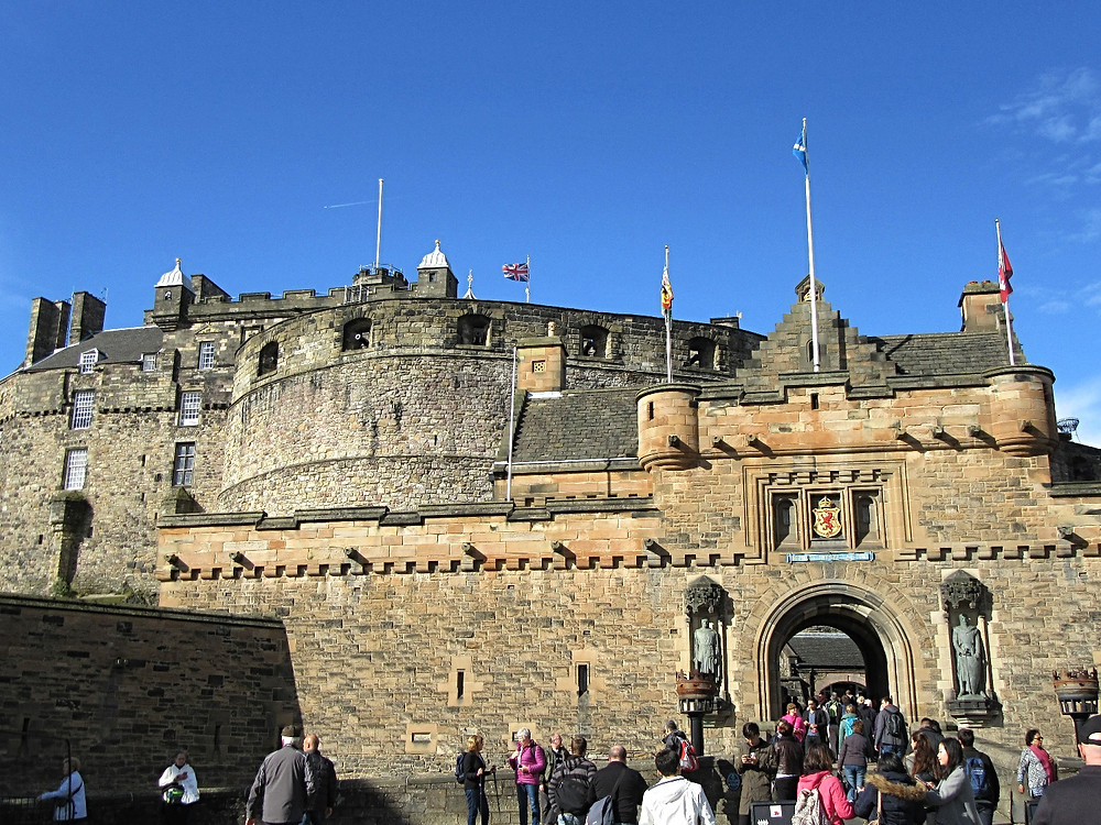 Traveleidoscope:  Edinburgh Castle