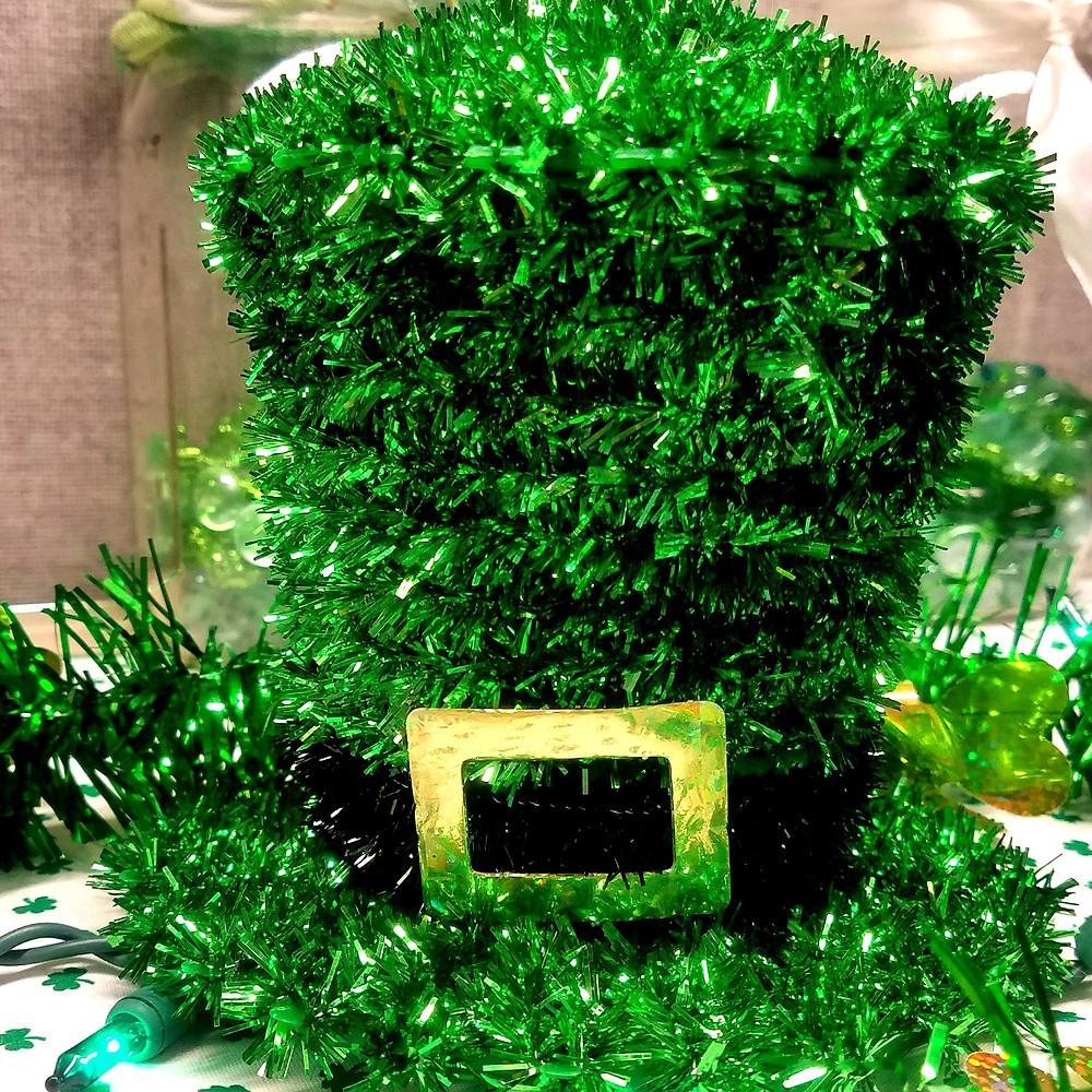 Photo of green leprechaun hat