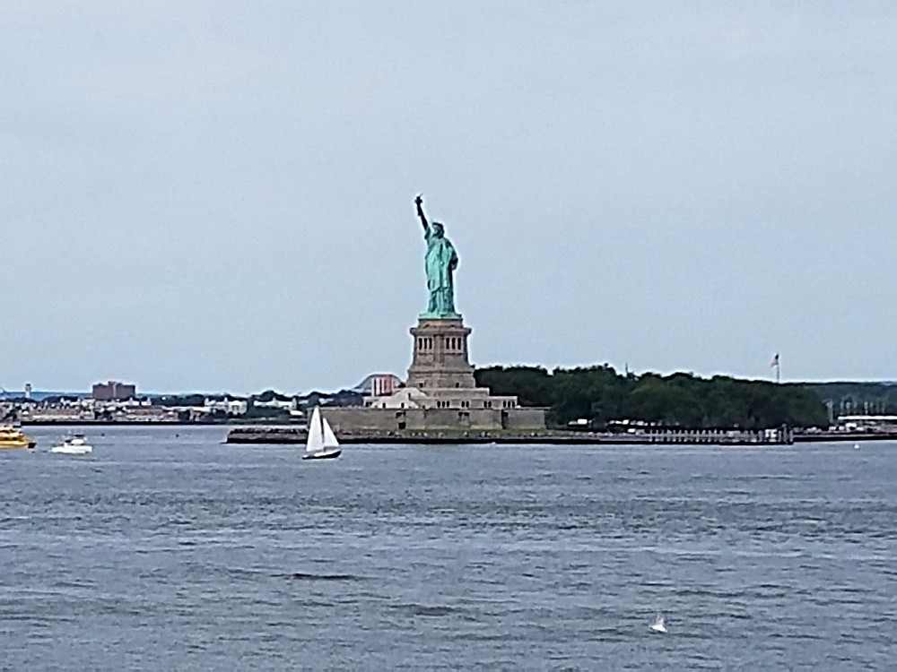Check out the Statue of Liberty from Governors Island!