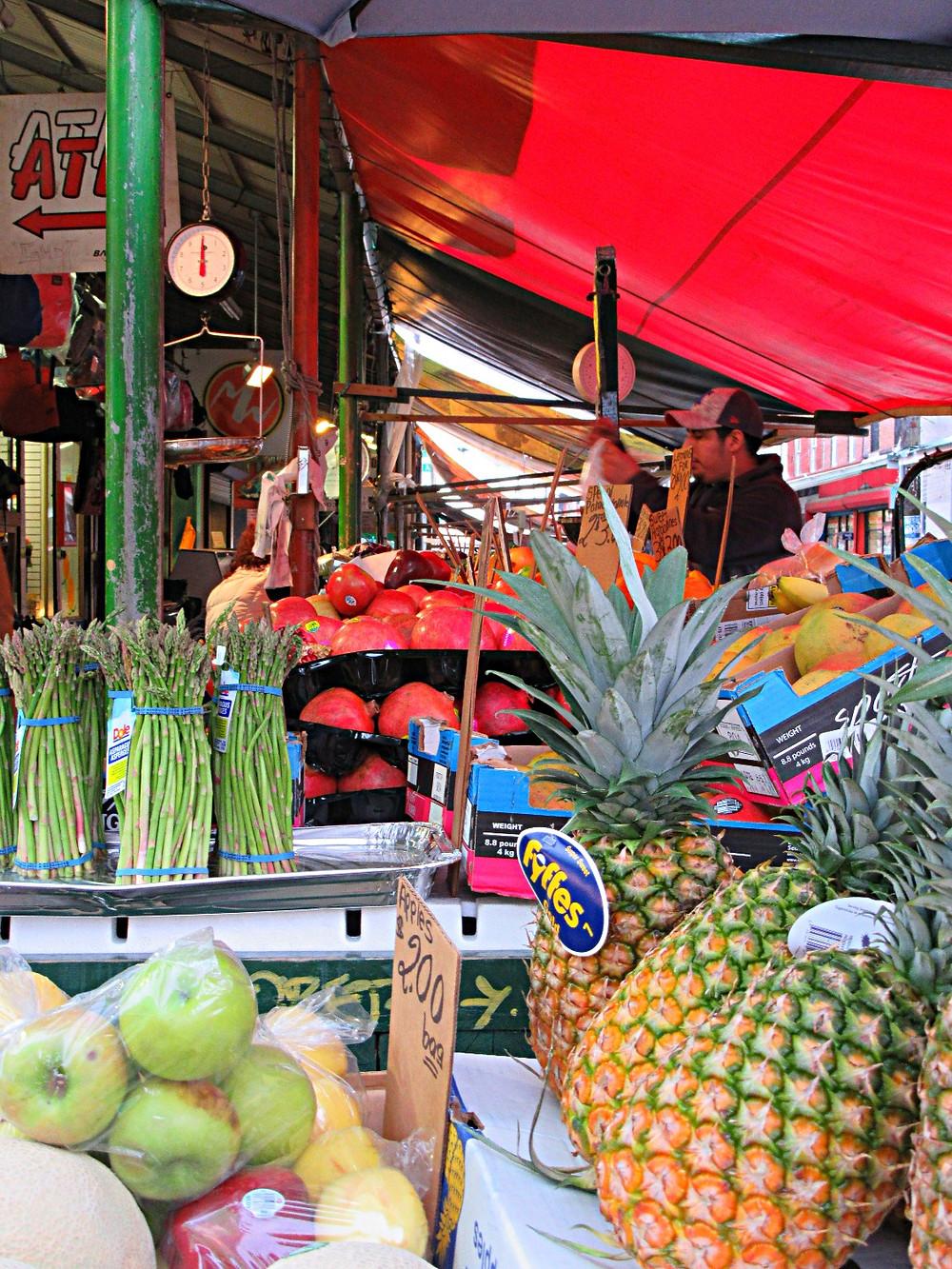 Traveleidsocope:  Italian Market, Philadelphia