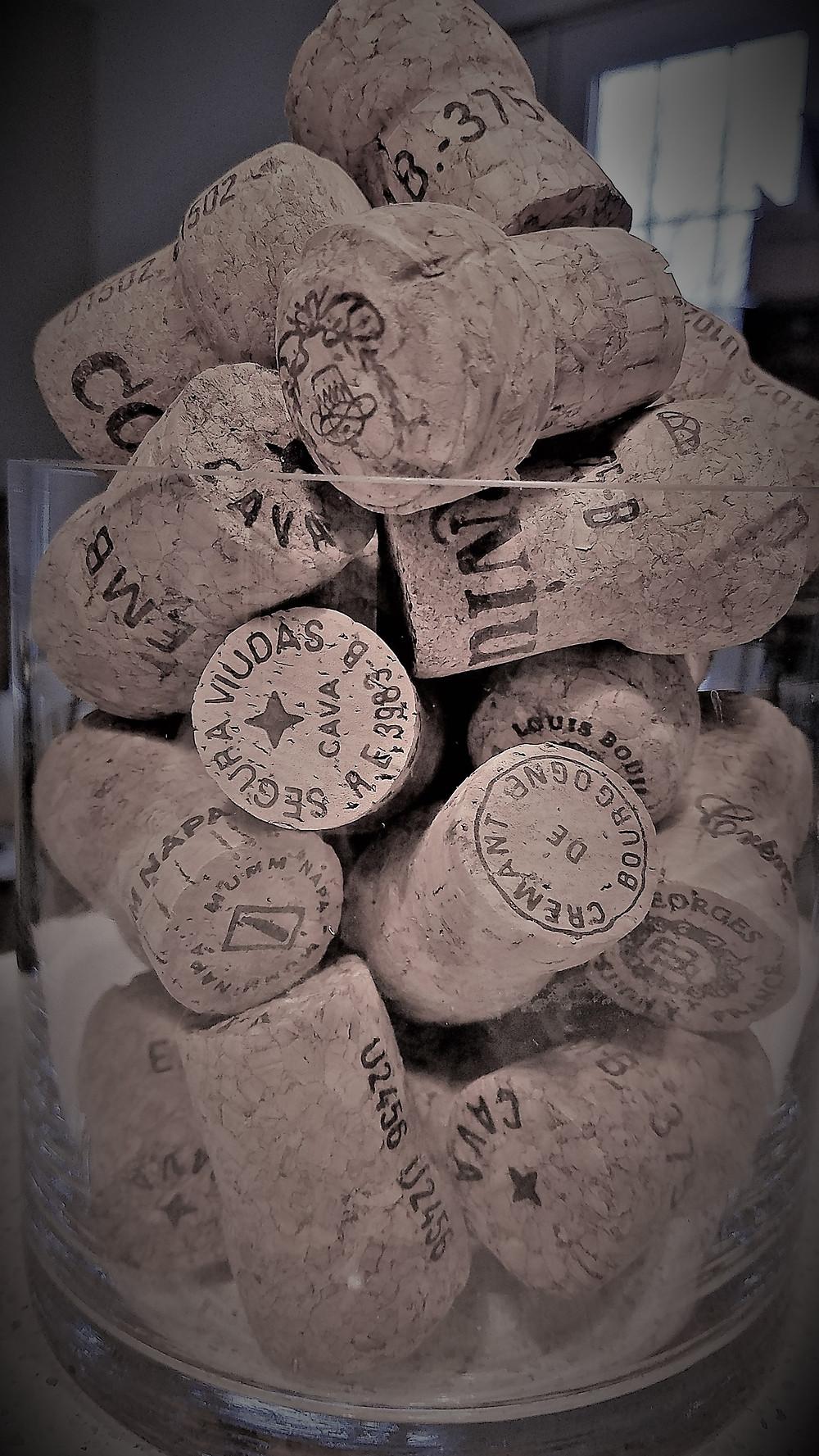 Traveleidoscope:  Champagne corks