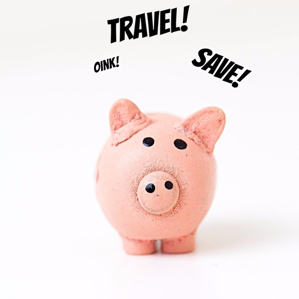 "Traveleidoscope:  Saving for Travel in Your ""Piggy Bank"""