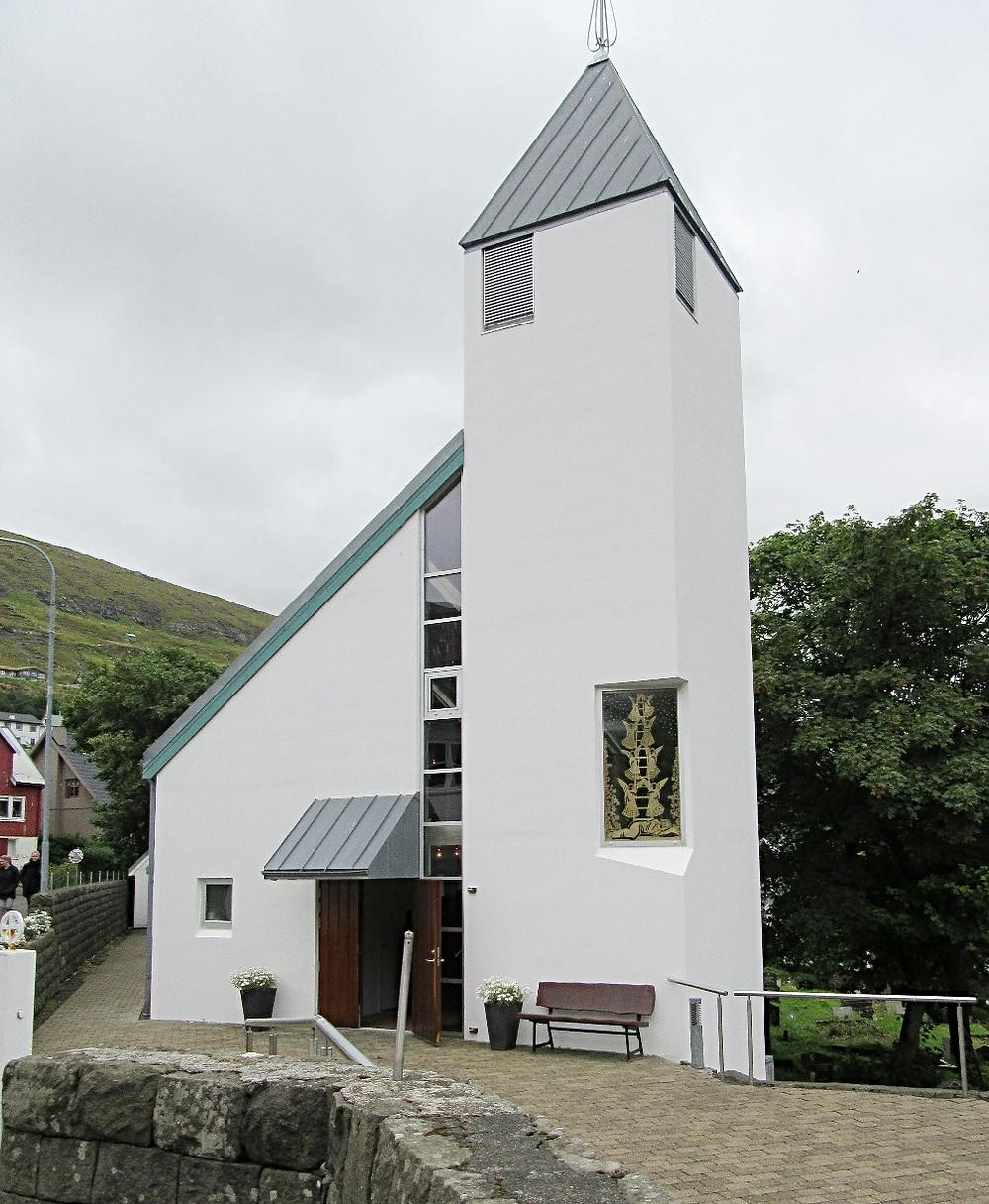 Traveleidoscope:  Vestmanna Church, Faroe Islands