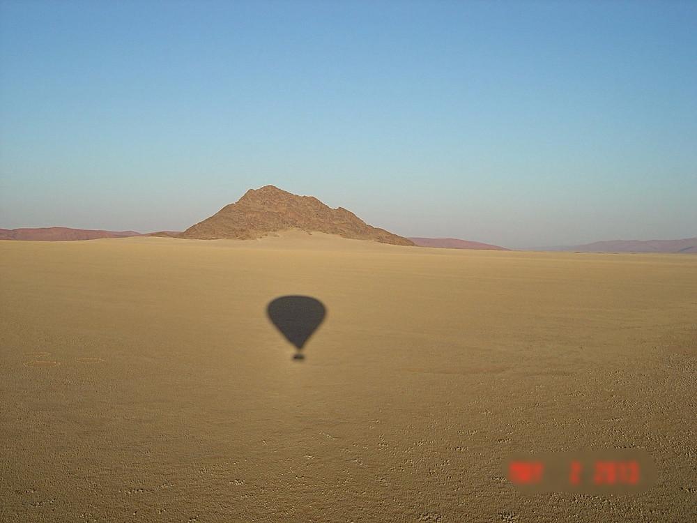 View from Balloon. Namib Desert. Namibia