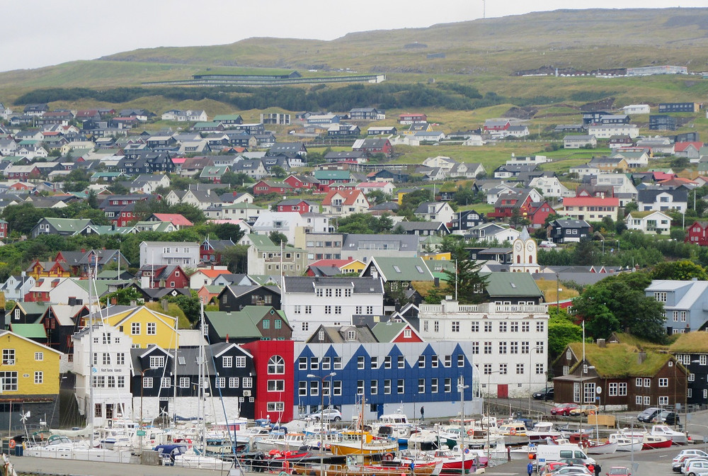 Traveleidoscope:  Torhavn Harbor, Faroe Islands