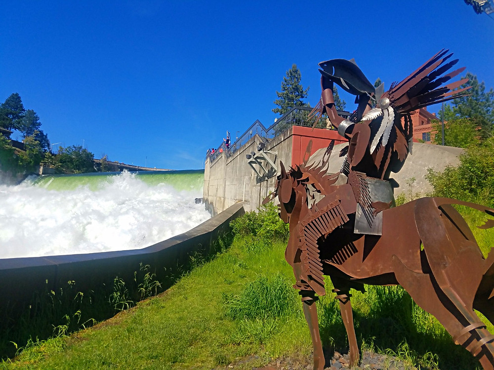 Traveleidscope:  Riverfront Park, Spokane, Washington