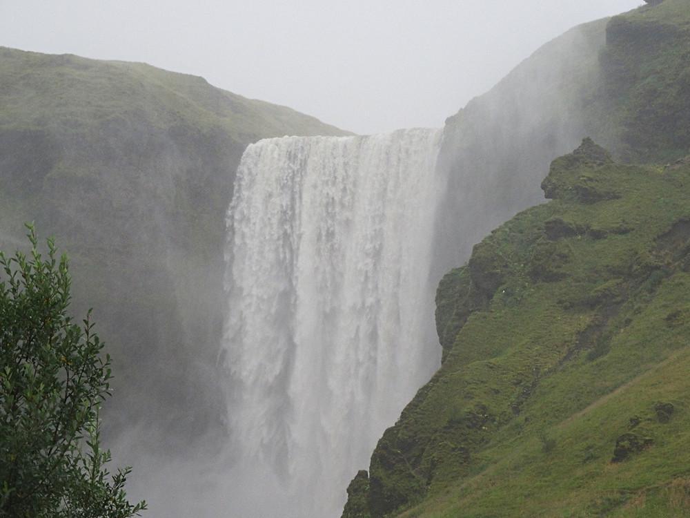 Traveleidoscope:  Skogafoss waterfall, Iceland