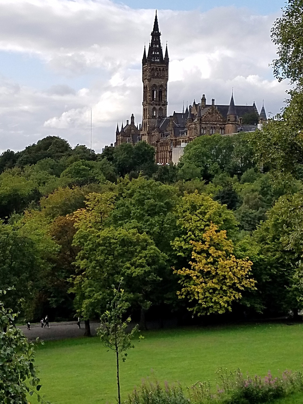 University of Glasgow on Glasgow Bike Tours