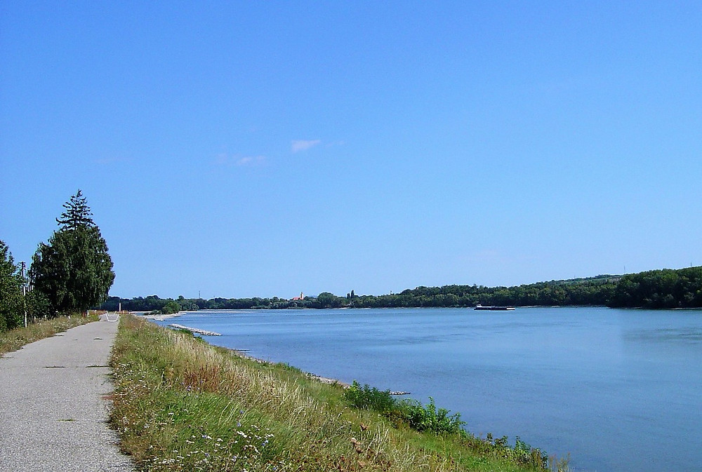 Cycle Path Along the Danube