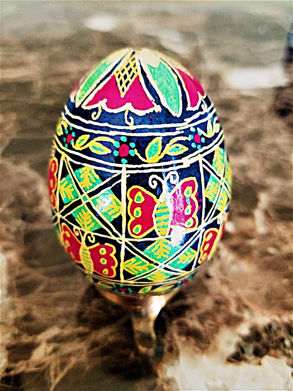 Ukrainian Decorated Egg
