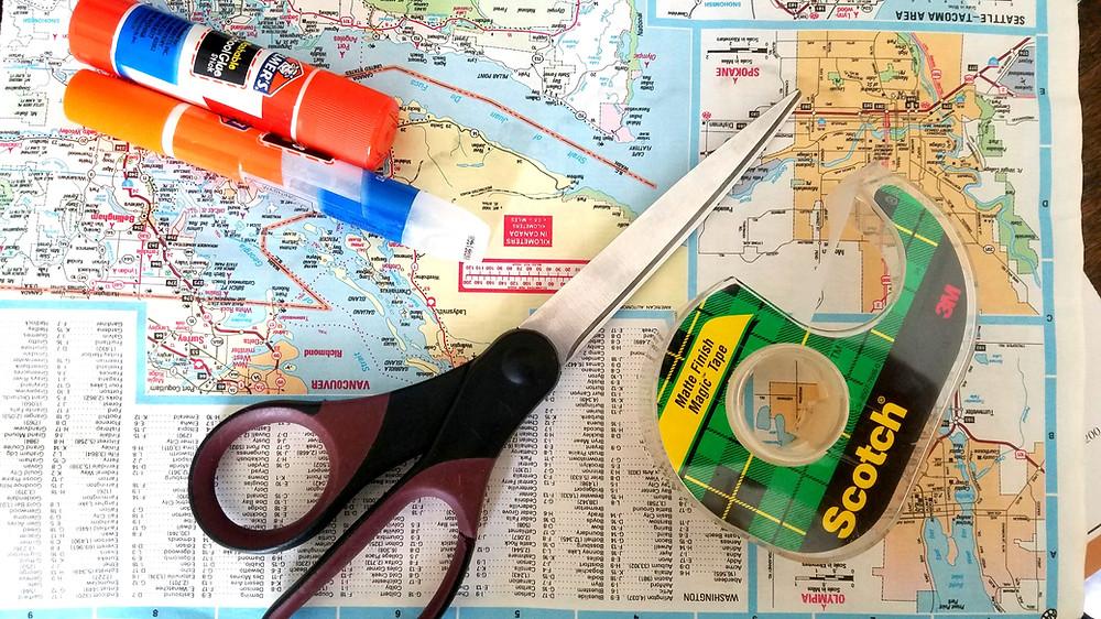Traveleidoscope: Travel related arts and crafts