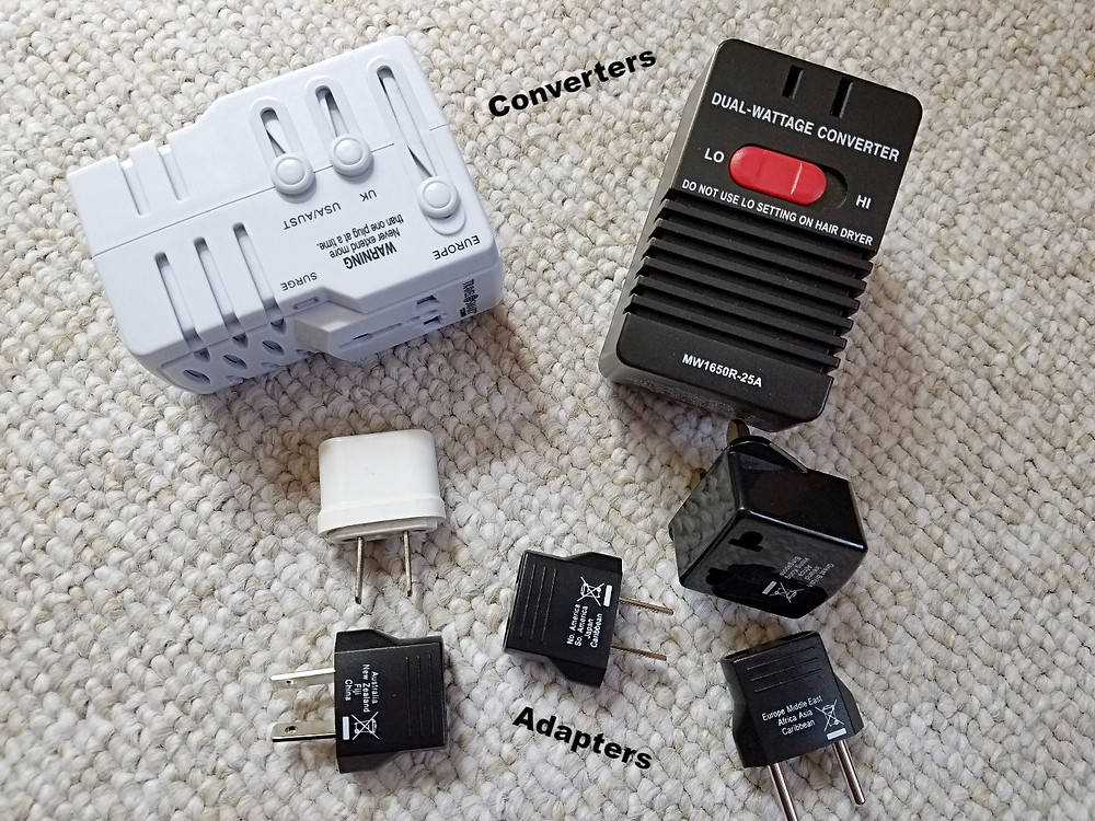 Know the difference between a converter and adapter?