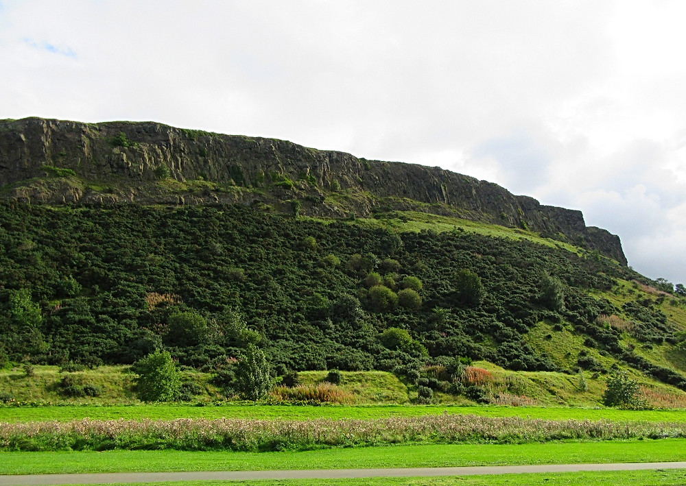 Traveleidoscope:  View of Arthur's Seat in Edinburgh
