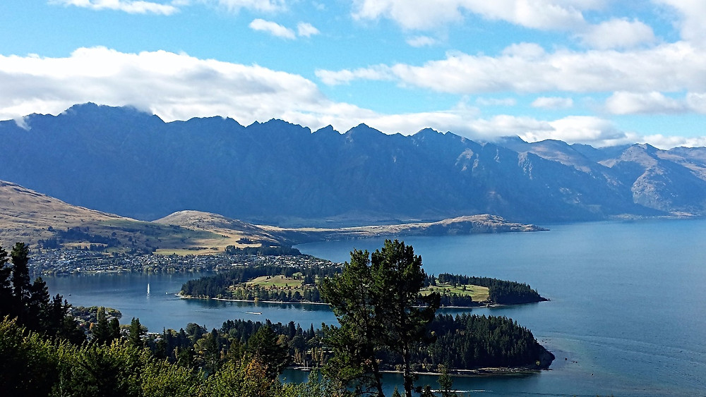 View of Queenstown from Above