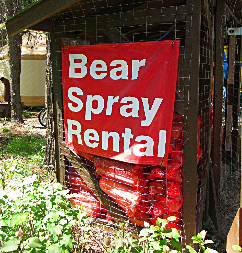 Traveleidoscope:  Bear Spray Rental, Glacier National Park