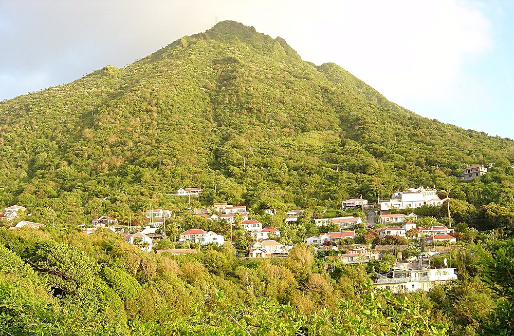 View of Saba
