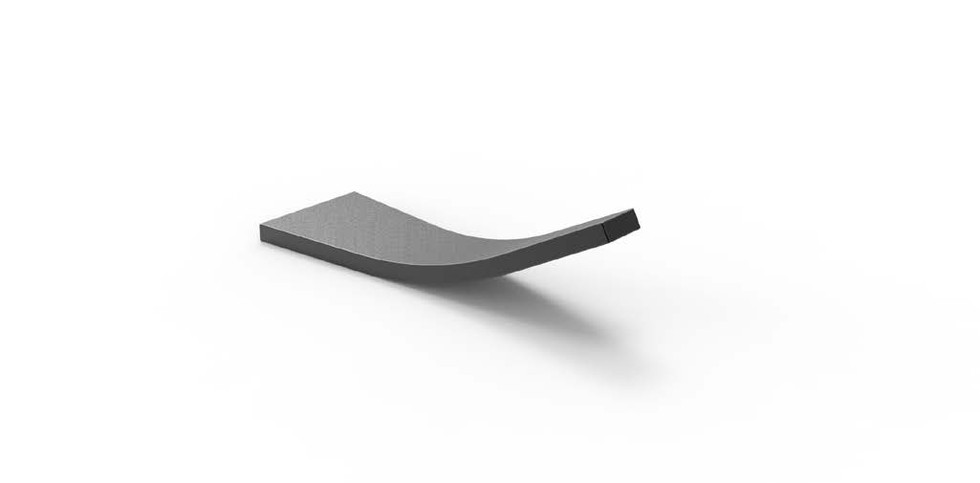 CURVED WEDGE