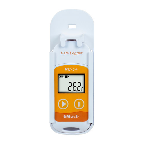 RC-5+ DATALOGGER DE TEMPERATURA (-30 A 70°C) 32000 LEITURAS CONEXÃO USB DIRETA