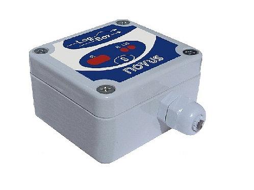 LogBox-DA-64k IP67 - 1 entrada digital e 1 entrada analógica