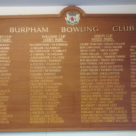 New honours boards