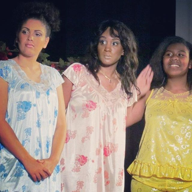 From the stage production in Texas, _Cindy's Spirit_ directed by Natacha _Cha Cha_ Martin. Playing o