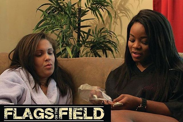 The new hit television series FLAGS ON THE FIELD premieres this Friday September 18th! Make sure you check it out! I play Shonda & she's goi