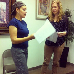 Directing my 1st stage production _FACEofHomeless!