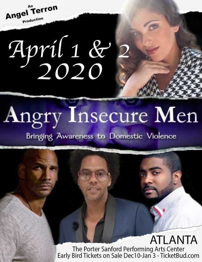"""Angry Insecure Men"", starring Vitelle, is Coming to Atlanta"