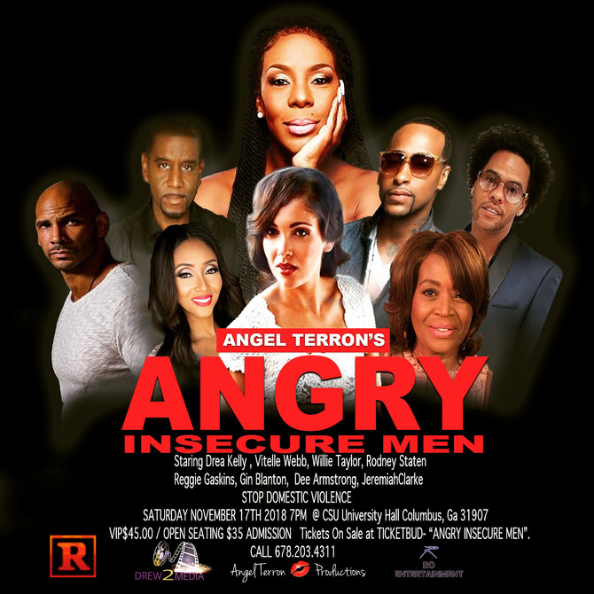 "Vitelle returns to star in the hit stage play ""A.I.M."" (Angry Insecure Men)"