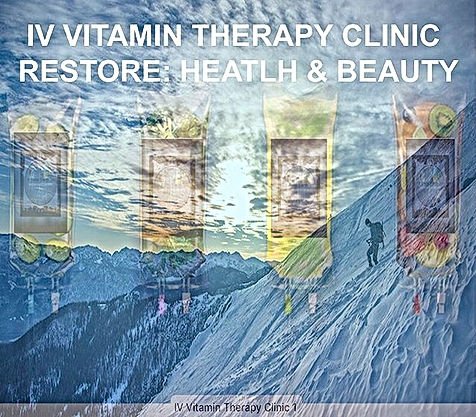 IV Vitamin Therapy Resore Health & Beauty