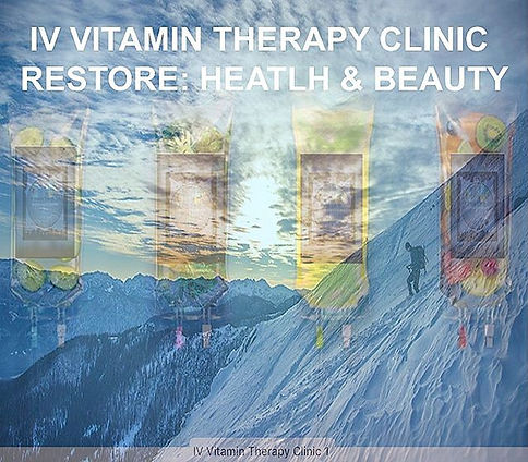 IV Vitamin Therapy Resore Health & Beauty