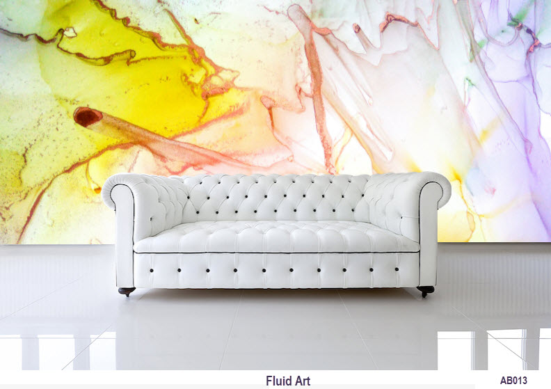Fluid Art Wallpaper