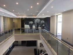 Wallpaper at WKH House in Windhoek
