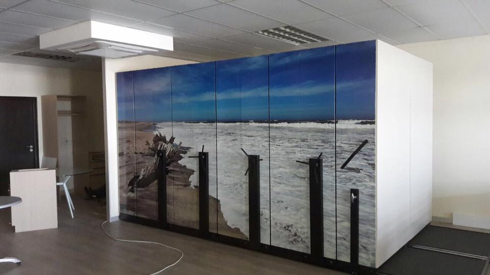 Turn industrial office in work of art