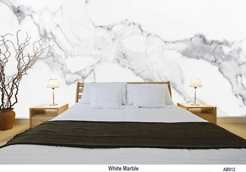 AB012 White Marble