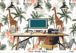 Flora Jungle wallpaper