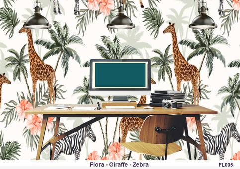 Flora-Giraffe-Zebra FL005