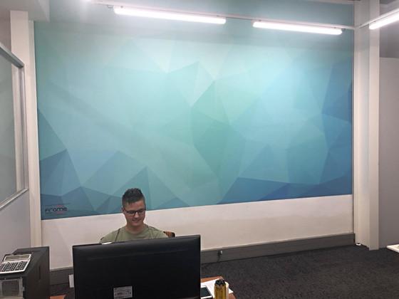 Abstract Geometric Pattern Wallpaper