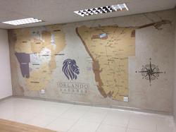 Custom Wallpaper at Orlando Safaris