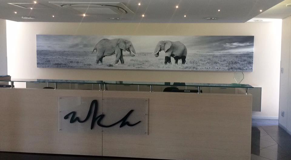 WKH House in Windhoek - Huge canvas prints