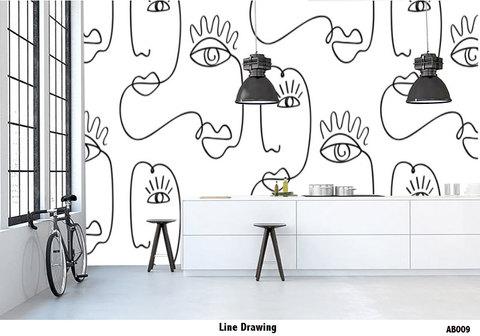 AB009 Line Drawing