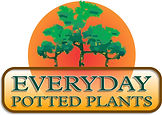 everyday potted plants logo upgrade whit