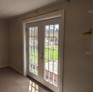 Interior photo after door installed